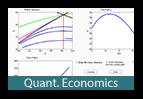 Das Bild dient als optisches Element und verlinkt auf den Navigationspunkt Quantitative Economics